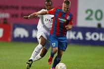 Z domácího zápasu Viktorie Plzeň a portugalské Coimbry