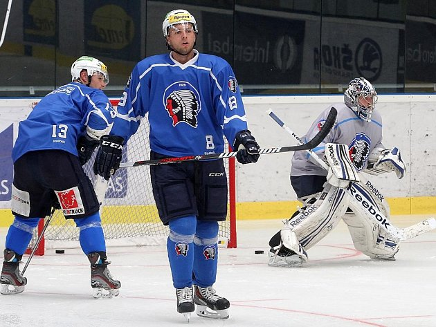 Trénink hokejistů HC Škoda Plzeň