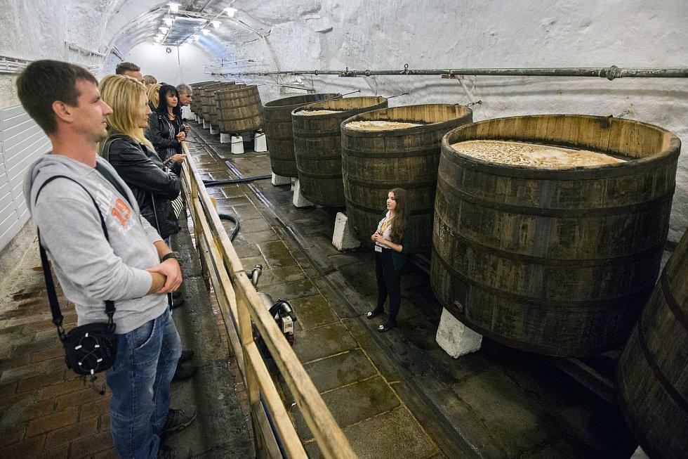 Navštívit je možné i pivovarské sklepy.