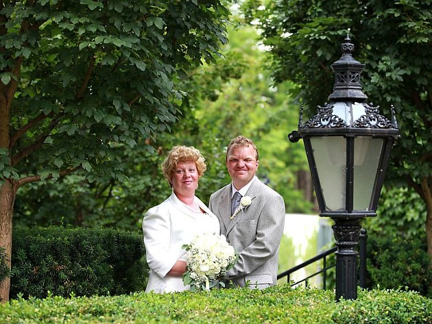č. 54: Petra a Pavel Svobodovi, Kroměždice (Svatba: 21.června 2014)
