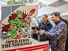Výstava videoher v nákupním centru Plaza