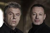 Jaroslav Svěcený (vlevo) a Michal Dvořák