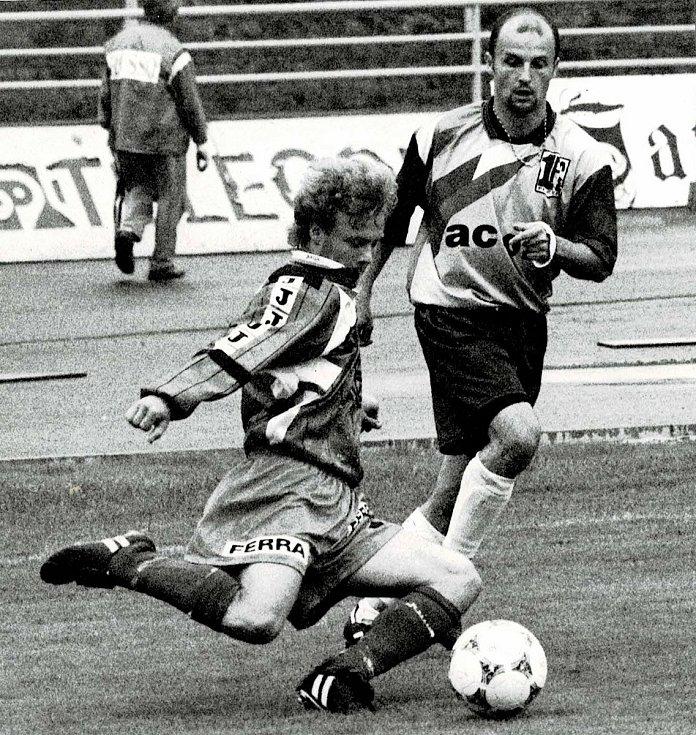 Jiří Šámal trpí nemocí ALS. Foto: archiv Václava Vacka