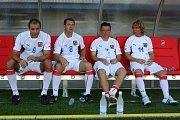 Součástí oslav stoletého výročí klubu FC Viktoria Plzeň byl i zápas internacionálů proti staré gardě Viktorky
