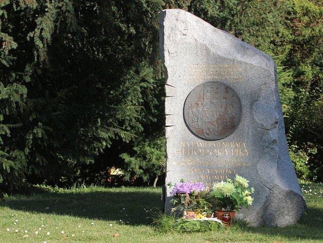 Hrob generála Heliodora Píky na Ústředním hřbitově