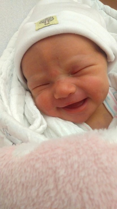 Eliška Kolečkářová ze Zelené Hory se narodila vklatovské porodnici 25. března ve 14:38 hodin (48 cm, 2880 g). Rodiče Monika a Ivo znali pohlaví svého miminka dopředu. Tatínek respektoval zákaz otců u porodu a držel mamince palce doma.