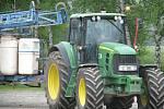 Protest zemědělců na jižním Plzeňsku