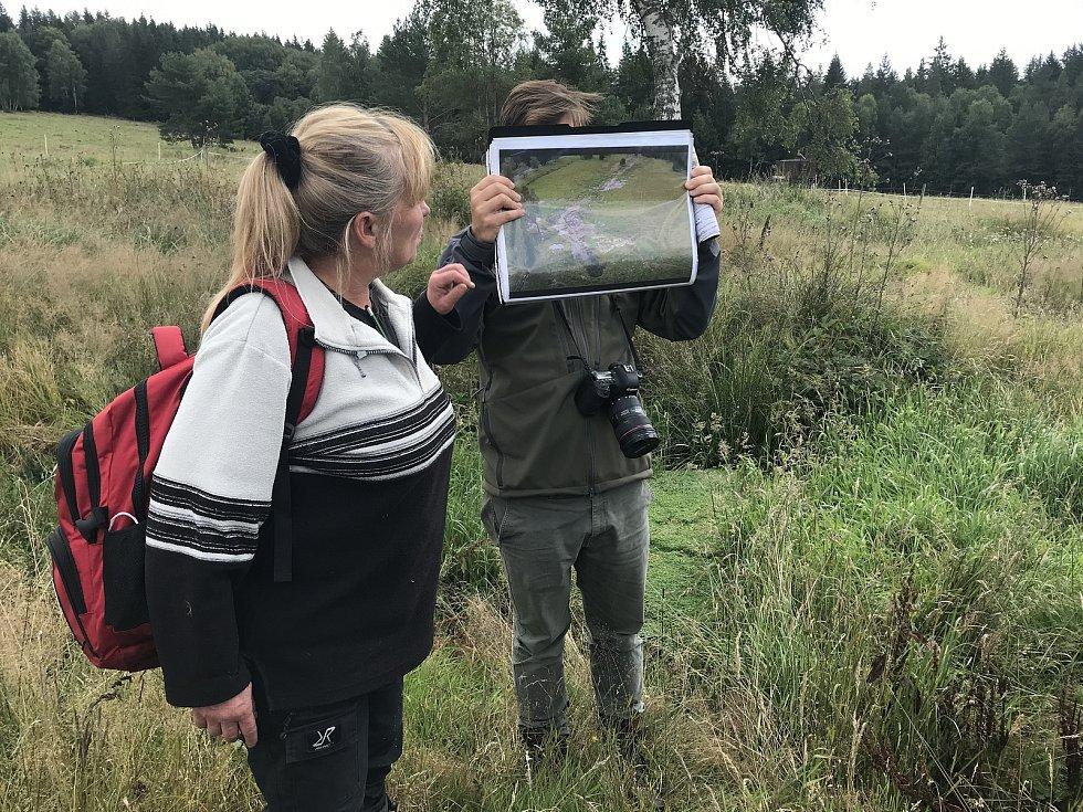 Garantka projektu Ivana Bufková s koordinátorem projektu Lukášem Linhartem.