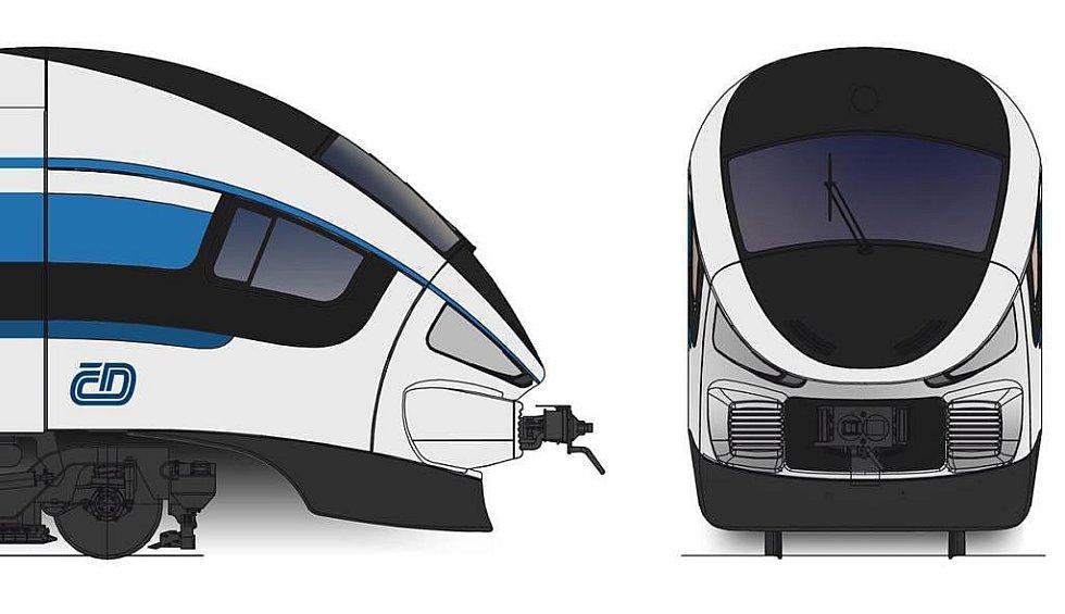 Podoba nových vlaků ČD