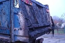 Znečištěné ulice v Plzni
