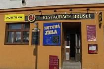 Restaurace Brusel v Líních u Plzně.