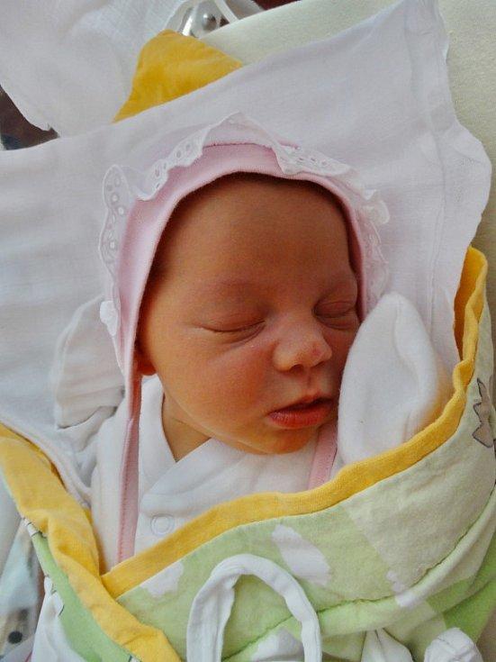 Sofie Justýnová se narodila 29. srpna v5:13 mamince Aleně a tatínkovi Jiřímu zChocenic. Po příchodu na svět vplzeňské FN vážila sestřička dvouleté Julinky 3910 gramů a měřila 50 centimetrů