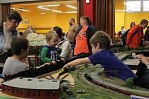 Výstava modelových kolejišť v Nýřanech