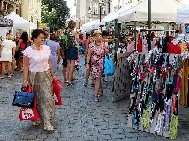 Fashion market ve Smetanově ulici v Plzni