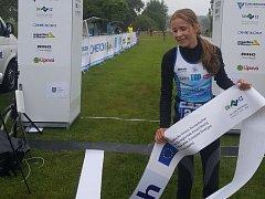 Barbora Jedličková vyhrála v Lipové závod mladších žaček.