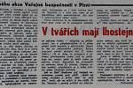 Článek V tvářích mají lhostejnost, Pravda, 30. května 1970
