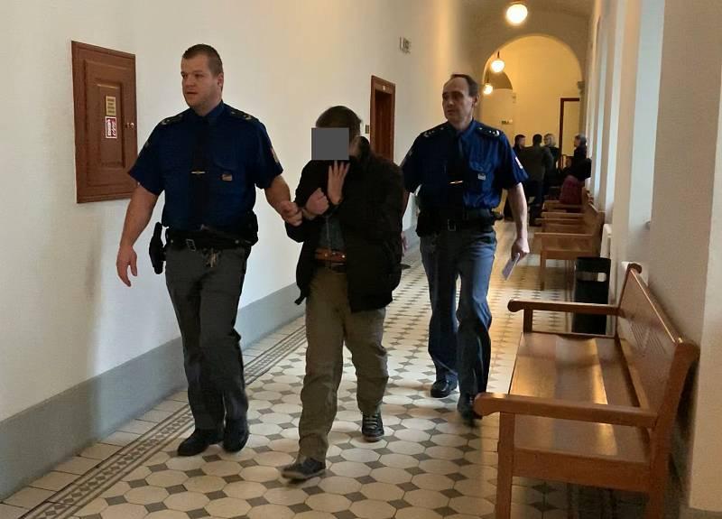 Krajský soud v Plzni se zabývá případem dvaapadesátiletého Vlastimila Š., který loni v dubnu brutálně napadl svoji matku.