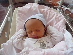 Antonín (3,40 kg) přišel na svět 27. března ve 13:24 v plzeňské fakultní nemocnici. Z narození svého prvorozeného syna se radují maminka Radka Kolihová a tatínek Pavel Beránek z Plzně.