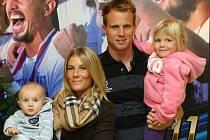 David Limberský s rodinou