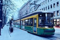 Moderní tramvaje ForCity, které do Helsinek dodá dceřiná firma společnosti Škoda Transportation, finský Transtech
