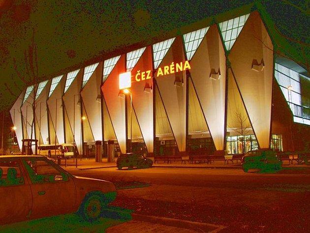 ČEZ aréna v Plzni.