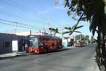 Nové vozy, které jsou ve městě Guadalajara v provozu od ledna, si tamní dopravní podnik a cestující velmi chválí