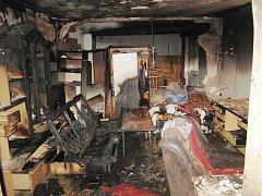 Výbuch v Jateční ulici v Plzni