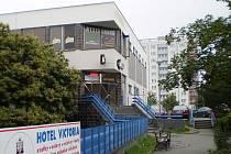 V budově bazénu v Plzni na Slovanech se nachází i herna s výherními automaty