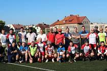 Fotbalisté Sokola Plzeň-Letná vyrazili už podvacáté na kolech z Plzně na klubovou chatu do Srní.
