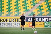Trénink FC Viktoria na Kypru