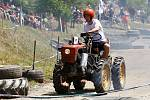 Tradiční traktoriáda v Žebnici.