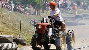 Traktoriáda v Žebnici