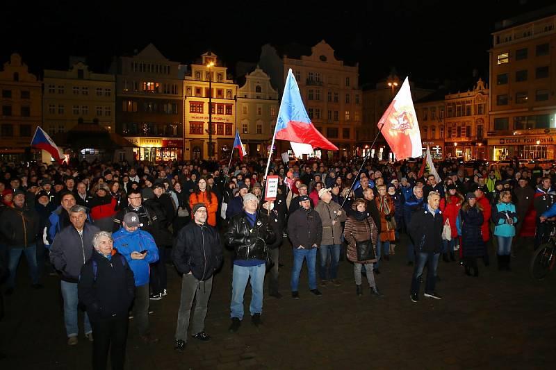 Štafeta pro demokracii v Plzni
