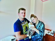 Vojtěch Souček se narodil 16. června v 9:27 mamince Simoně a tatínkovi Jiřímu z Poběžovic. Po příchodu na svět v plzeňské FN vážil jejich prvorozený syn 4090 gramů a měřil 51 centimetrů.