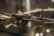 Zahájení turistické sezóny 2017 v Nepomuku. Návštěvníci si mohli prohlédnout modely letadel v objektu Zelenohorské pošty.