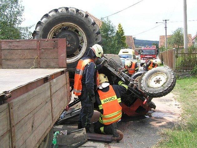 Úterní nehoda v jihoplzeňském Ždírci