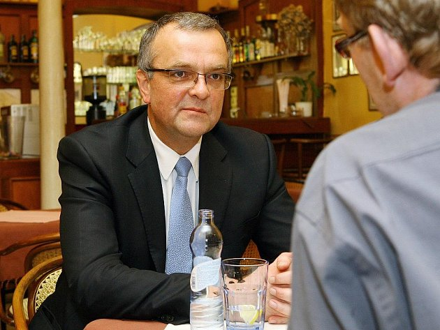 Miroslav Kalousek v Plzni