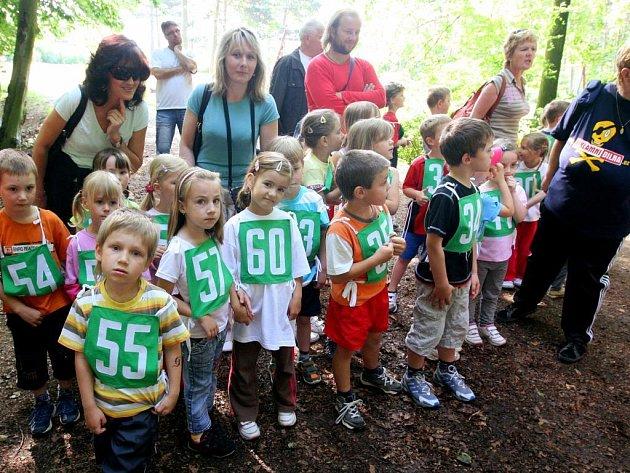 Dvanáctého ročníky Běžecké hvězdičky se zúčastnilo 130 plzeňských předškoláků.