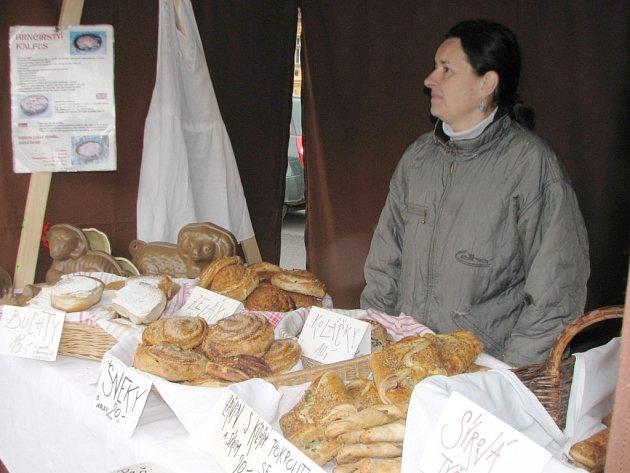 Farmářské trhy v Blovicích ovlivnilo nepříznivé počasí
