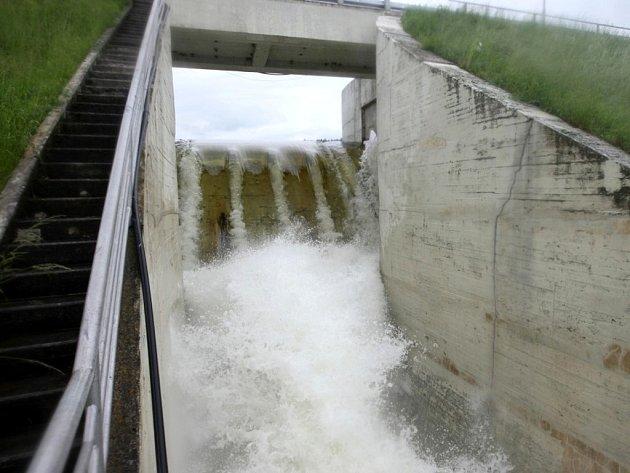 Vodní nádrž Hracholusky.