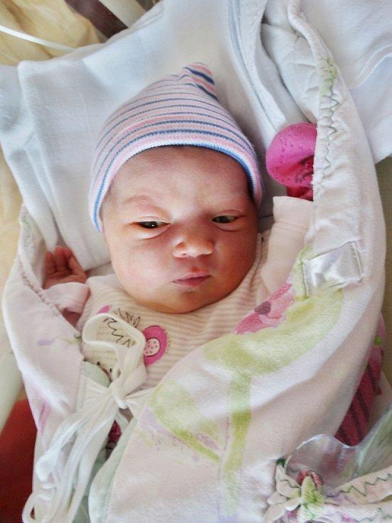 Michaela Petráčková se narodila 10. května v11:08 mamince Petře a tatínkovi Tomášovi ze Vsi Touškova. Po příchodu na svět vplzeňské FN vážila sestřička dvouleté Terezky 3790 gramů a měřila 53 centimetrů.