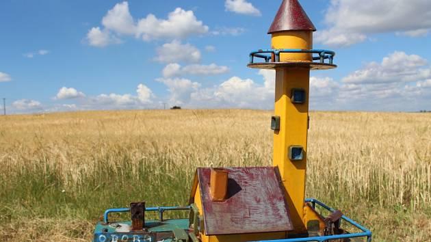 Jak vypadá miniaturní rozhledna, si může u Obory prohlédnout každý. Jak bude ale vypadat ta opravdová 21metrová, až na její stavbu dojde? To se teprve uvidí