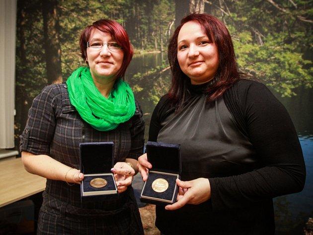 Zachránkyně z Kokašic Hedvika Maroušková (vlevo) a Zuzana Hovorková