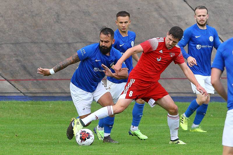 SK Petřín Plzeň vs. Sokol Lom 0:1 (0:1).