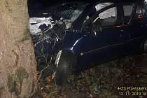 Nehoda u Dolní Lukavice