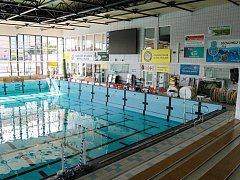 Bazén v Plzni na Slovanech