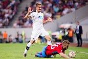 Ze zápasu FCSB - FC Viktoria Plzeň