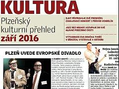 Plzeňský kulturní přehled - září 2016