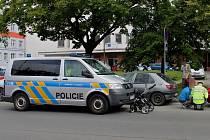 K vážné nehodě došlo na přechodu v ulici 17. listopadu.