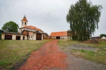 Plzeň, Chotíkov, zachraňování statku